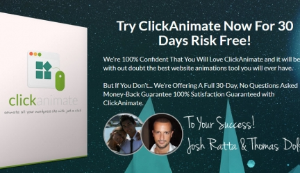 ClickAnimate Review – Watch ClickAnimate Demo Before Buying Click Animate